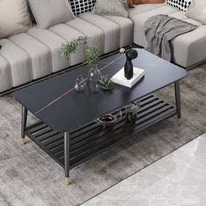 Living Room Furniture nordic rock marble modern simple home livings rooms tea tables office reception square table
