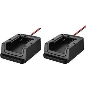 Computer Cables & Connectors 2 Pcs Battery Adapters 18V Dock Adapter Holder Power Mount With Wires Connector Compatible M18