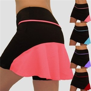 Performance Active Skorts Skirt Skirts Womens Plus Size Skirts Womens Running Tennis Golf Workout Sports Natural Clothes 210406