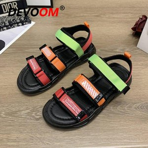 Summer Girls Chaussures Fashion Plage Plage Sandales Appartement Chnuky Sneakers Casual Black Sliders pour femmes Dames Taille 40