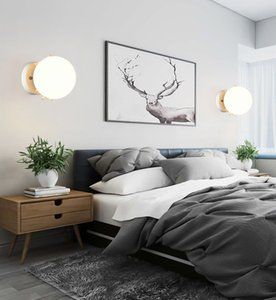 Modern minimalist creative indoor wall lamp led Nordic living room corridor stairs aisle lights
