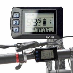 Bike Computers Electric Bicycle Scooter Controller Display LCD Pannello di controllo E-Bike Accessorio Ebike Opzione impermeabile