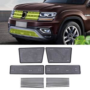Car Accessories Front Grille Insert Anti-insect Dust Garbage Proof Inner Cover Net for Volkswagen Atlas Teramont 2017-2019