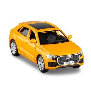 136 alloy pull back Q8 car modelhigh simulation SUV car toyclassic childrens educational toy
