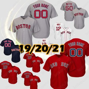 Red Sox Baseball Jerseys J.D. Martinez Boston David Ortiz Chris Sale Ted Williams Rafael Decis Bobby Dalbec Enrique Hernandez Alex Verdugo Adam Ottavino Franchy Cord