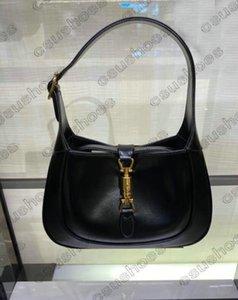Jackie 1961 Mini Hobo Bag Leather Designer Women Cross Body Small Handbag Designers Luxurys Womens Handle Bags Lock Saddle Purse Wallet Totes CrossBody B21020502L