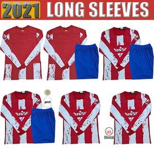 Atletico Long sleeve soccer jerseys SUAREZ Madrid fans 21 22 JOAO FELIX 2021 2022 M LLORENTE KOKE JOÃO FÉLIX Jersey camiseta Mens football shirts