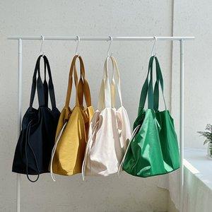 MJ Женщины Сумка на ремне Нейлоновая мода Древесина сумки сумки большая емкость Сумок Универсальный твердый цвет покупатель