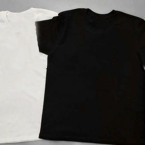 Plus Size S-5XL Cotton Mens T Shirts Small Letter Women T-Shirts Black Mens Women Fashion Cotton Man T Shirts Top Short Sleeve Shirts