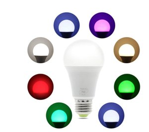 Smart WIFI LED Bulb work with Amazon Alexa & Google Home RGB Warm Light + White E27 7W AC85-265V