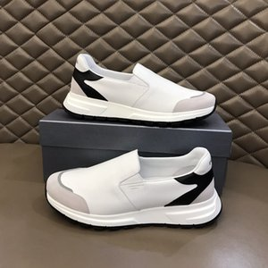 Personality and fashion famous Luxury designer sneakers lace-up shoes with top quality genuine leather casual designer shoes RD367-369