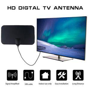 80 Meilen 1080p Indoor Digital TV Antenne Signal Empfänger Verstärker TV Radius Surf Fuchs Antennen HDTV Antennen Antennen Mini DVB-T / T2