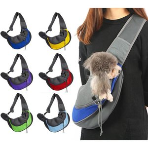 Pet Bag Cat And Dog Travel Portable Messenger Shoulder Bags Breathable Mesh Pets Backpack Accessories Chihuahua Perros Acesorios Car Seat Co