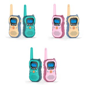 3km walkie-talkie interphone voice changing smart handheld wireless communication parent-child interaction indoor and outdoor children's toys
