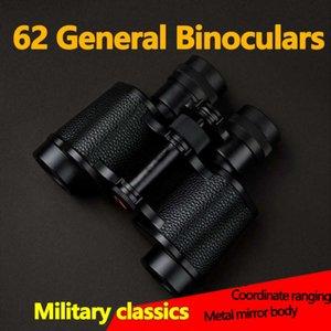 8X30 Powerful Binoculars Telescope Military Type 62 High Magnification Full Metal BAK4 Monocular Prism for Camping Outdoor