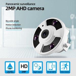 Cameras 2MP Security Camera High Quality Fisheye IP66 HD 1080P AHD