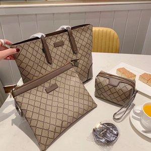 5colors 3 piece set 2021NEW high quality cc shoulder bag ladyss handbag ladys waist luxury designer lady clutch fashion bags