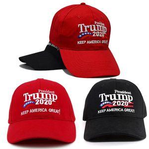 2020 Donald Trump Baseball Caps Unisex Men Women Casual Adjustable Mesh Cap Keep Make America Great embroidered baseball hat