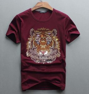 2021 New Arrrive Tshirt Luxury Design of Diamonds 100% Cotton Men Top Tees Designer Man T-shirt 1XJS