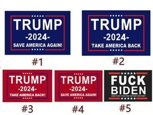 Trump 2024 Drapeau des élections Bannière Gardez l'Amérique Great Acendez des drapeaux Ivanka 150 * 90cm 13 Styles