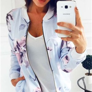 New Women Printing Flowers woman hoodies long sleeve hoody Sweact Cotton Blend shirt Jumper Zipper Tops Pullover Jacket sweatshirt Hot