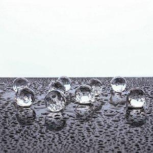 40 мм хрустальный шар призма хрустальный стеклянный шар люстрой украшения висит граненые призмы шарики шарики бусины свадьба домашнее декор CCF6411