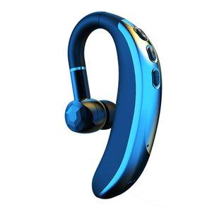 Bluetooth Headset Bluetooth5.0 Earpiece Handsfree Headphones Mini Wireless Earphone Earbud For IOS Android Smart Phone
