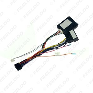 Car 16pin Audio Wiring Harness With Canbus Box For Mercedes-Benz A-Class Aftermarket Stereo Installation Wire Adapter #6701