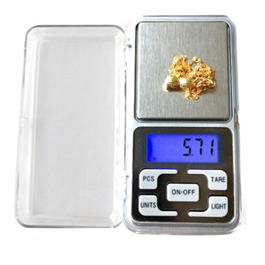Electronic Scale Digital Scales Digital Tobacco Jewelry Scale Gold Silver Coin Grain Gram Pocket Size Herb Mini Electronic backlight 100g 200g 500g fast shipment