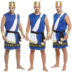 New Adult Man Zeus Costumes Male COS Fancy Dress Ancient Greece King Cosplay Clothes for Carnival Halloween Christmas Masquerade1