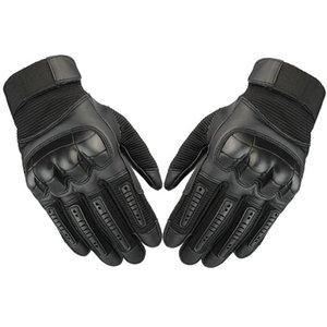 Motorcycle Gloves Summer Unisex Touchscreen Anti-Slip Breathable Anti- Durable Mountain Bike Sports Mtb Full Finger Cycling