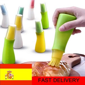 Tools & Accessories SHZQ 1 Silicone Oil Brush Baking Brushes Liquid Pen Cake Butter Bread Pastry BBQ Utensil Safety Basting