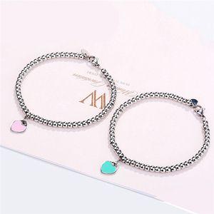 PLEASE RETURN TO Beaded Bracelets Green Heart Strands For Women Ladies 2021 Summer Fashion Woman Bracelet Home Wedding Engagement Jewelry