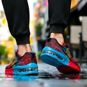 2021 مصمم الاحذية للرجال النساء الأزرق رمادي أحمر أزياء رجالي المدربين جودة عالية الرياضة الرياضية أحذية الحجم 35-45 SC