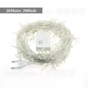 Strings Led Christmas Lights 20m 200 Leds AC 220V String Home Tree Luminaria Decoration Lamp Holiday Party