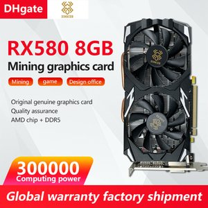 Xingke original authentic mining graphics card brand new RX 580 8GB 300,000 computing power 256Bit 2048SP GDDR5 is suitable for gaming office AMD NVIDIA