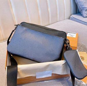 3 pezzi uomo messenger bag luxurys designer borse uomini crossbody unisex business spalla tote valigetta maschio