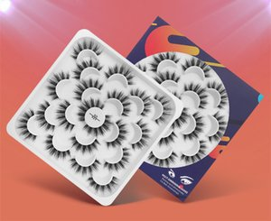 Top Seller Newest False Eyelashes 10 Pairs Natural 3D Mink Long Eyelash 2Styles Handmade Eyelashes