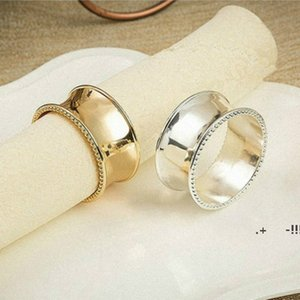 Wedding napkin rings metal holders for dinners parties hotel table decoration supplies diameter 4.5cm FWE5927