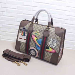 Desk Lamps best quality classic real leather women belt bag Genuine Leather hand men backpack message 459311 42..29..16cm