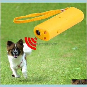 Dog Training & Obedience Supplies Pet Home Garden Led Ultrasonic Anti Bark Barking Repeller Control Trainer Device 3 In 1 Stop Bark Dr