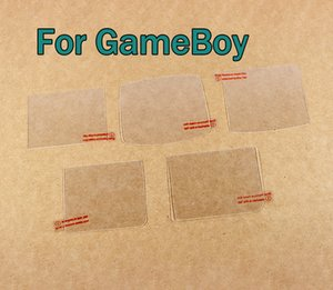 Glass High transparent clear screen protector Cover Plus Clean Cloth protective film for For GBA SP GB GBC GBP