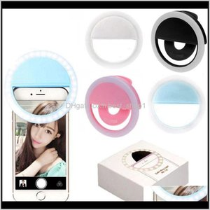 Selfie Ring Clip On Usb Rechargeable 36 Led Camera Phone Fill Light Whiten Beauty Slimming Pography Lamp Novelty Items Bydre Ajtiq