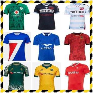 2021 Racing 92 Главная Рэгби Джерсиская рубашка 19 20 Франция Ирландия Испания Уэльс Австралия Обучение