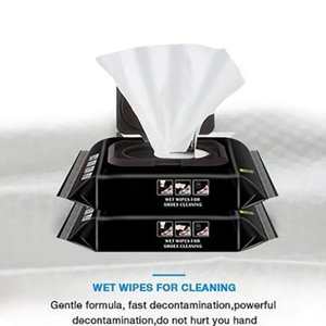 Cleaning Cloths Small White Shoe Artifact Ravel Portable Disposable Sneakers Quick Wet Wipes