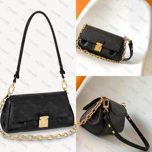 Top quality Women's men Crossbody Bags fashion tote famous FAVORITE Original free MON0GRAM Shoulder Bag Purse Luxury Genuine Leather Handbags hobo Handbag