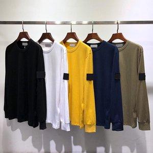 T-shirt da uomo manica lunga in cotone manica lunga alta qualità felpa a maniche lunghe hip hop uomini streetwear cause base da camicia da uomo abbigliamento top tee