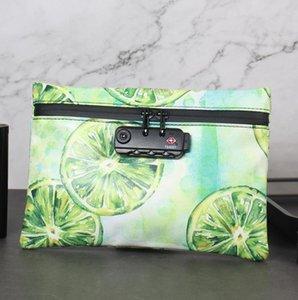 Travel deodorant pipe storage bag cosmetic bag tobacco odor deodorant storage bag
