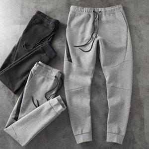 21FW Tech Fleece Sport Pant Space Cotton Trousers Men Tracksuit Bottoms Mens Joggers TechFleece Camo Running pants 2 Colors-wm