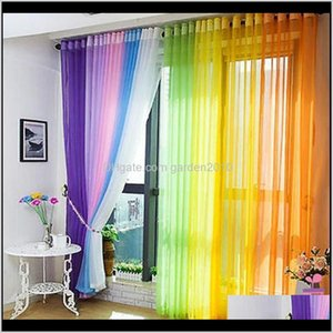 & Drapes Bedroom Ready Made Finished Organza Child Window Cortina Curtain For Living Room Wedding Home Decor Ru2Ty 76Prz